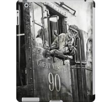 Engineer of The Great Western iPad Case/Skin