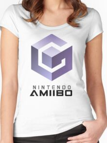Amiibo GAMECUBE Women's Fitted Scoop T-Shirt