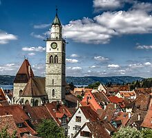 Roof Tops - Medieval Town Ueberlingen - Überlingen Deutschland Photo by deanworld