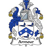 Armour Coat of Arms / Armour Family Crest Photographic Print