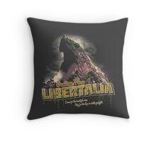 Greetings from Libertalia Throw Pillow