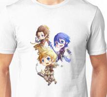 Kingdom Hearts Birth By Sleep: Chibi Unisex T-Shirt