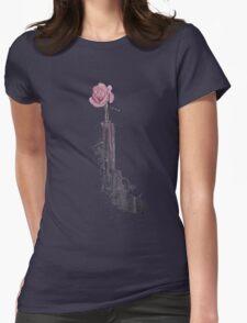 guns n flower Womens Fitted T-Shirt