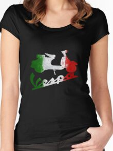 Vespa Classic Women's Fitted Scoop T-Shirt