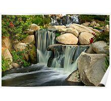 Redhawk Waterfall Poster