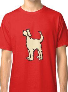 Shaggy Dog Cartoon Classic T-Shirt