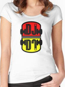 Cool DJ Women's Fitted Scoop T-Shirt