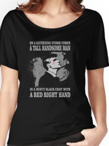 Peaky Blinders Song. Tommy Shelby. V2. Women's Relaxed Fit T-Shirt