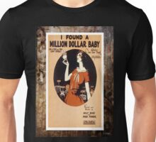 I Found A Million Dollar Baby Fox Trot Sheet Music Unisex T-Shirt