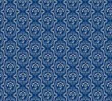 MorMor-damask blue by phoenixhowl