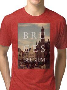 Bruges, belgium Tri-blend T-Shirt