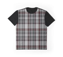 02606 Dunbar Plaid Artefact Tartan  Graphic T-Shirt
