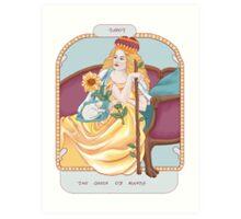 Queen of Wands Art Print