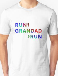 Run Grandad Run Unisex T-Shirt