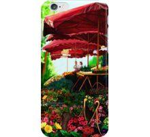 Marche Aux Fleur iPhone Case/Skin