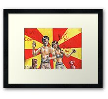 Hannibal - BAMF friends Framed Print