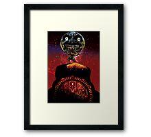 Majora's Moon Framed Print