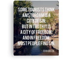 tfios quote 1 Canvas Print
