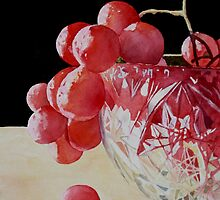 Crystal and Grapes by Bobbi Price