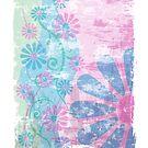 Floral Grunge by Lisann