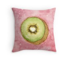 FRUIT Series: Kiwi Throw Pillow