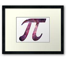 Nebula Pi Framed Print
