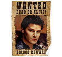 Angel David Boreanaz Buffy Wanted Poster