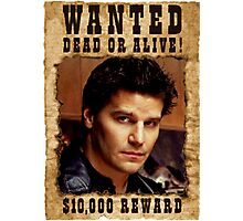 Angel David Boreanaz Buffy Wanted Photographic Print