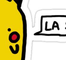 """Pika """"La Sal****"""" Sticker"""