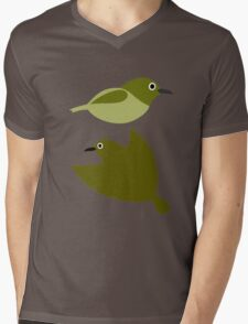 Little birds - design of nature Mens V-Neck T-Shirt