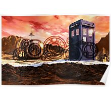 Doctor Who - Tardis, Gallifrey and Doctor's Name Poster