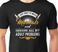 Watch Musicals. Unisex T-Shirt