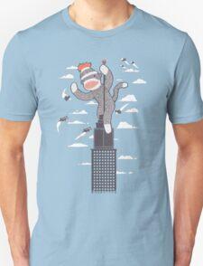 Sock Monkey Just Wants a Friend Unisex T-Shirt