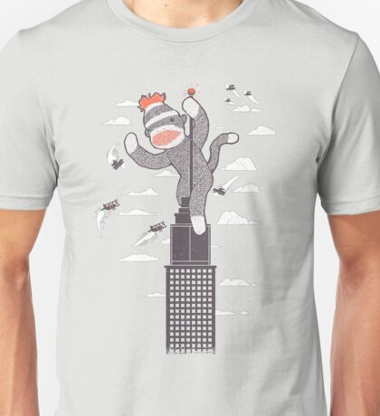 Sock Monkey Just Wants a Friend Unisex T-Shirt