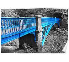 Balgay footbridge Dundee Poster