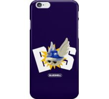Blue Shell = BS  iPhone Case/Skin