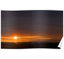 A Hebridean Sunset Poster