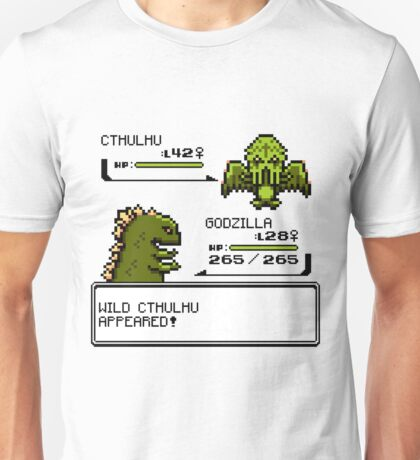Wild CTHULHU Appears!  Unisex T-Shirt