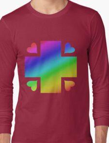 MLP - Cutie Mark Rainbow Special - Nurse Redheart Long Sleeve T-Shirt