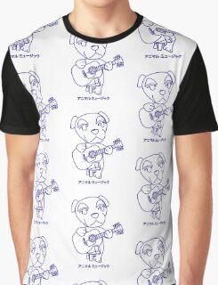 Animal Music Graphic T-Shirt