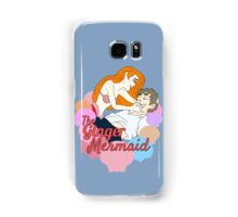 The Ginger Mermaid Samsung Galaxy Case/Skin