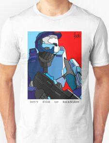 """Don't Ever Go Backwards"" T-Shirt"