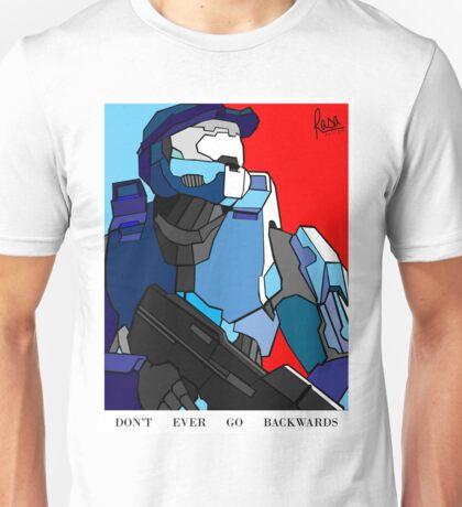 """""""Don't Ever Go Backwards"""" Unisex T-Shirt"""