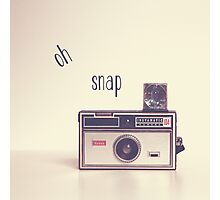 Oh Snap Photographic Print