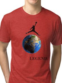 Jordan Jumping over the Earth Tri-blend T-Shirt