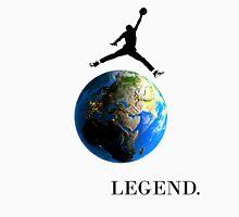 Jordan Jumping over the Earth Unisex T-Shirt