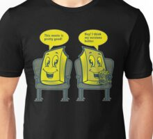 Books at a movie Unisex T-Shirt