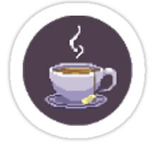 Cup of Tea Games - Small Logo Sticker