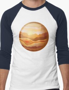 Jupiter Men's Baseball ¾ T-Shirt