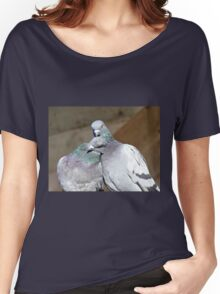 Love Is... Rock Pigeons Women's Relaxed Fit T-Shirt